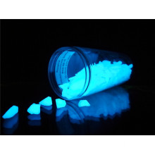 Realglow Photoluminescent Quarz Pure Blue 15mm